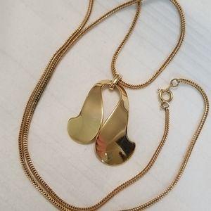 Napier Gold Tone Necklace